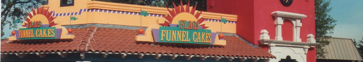 Restaurant Flags Funnel Cakes